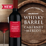 Whiskey Barrel Cabernet Merlot