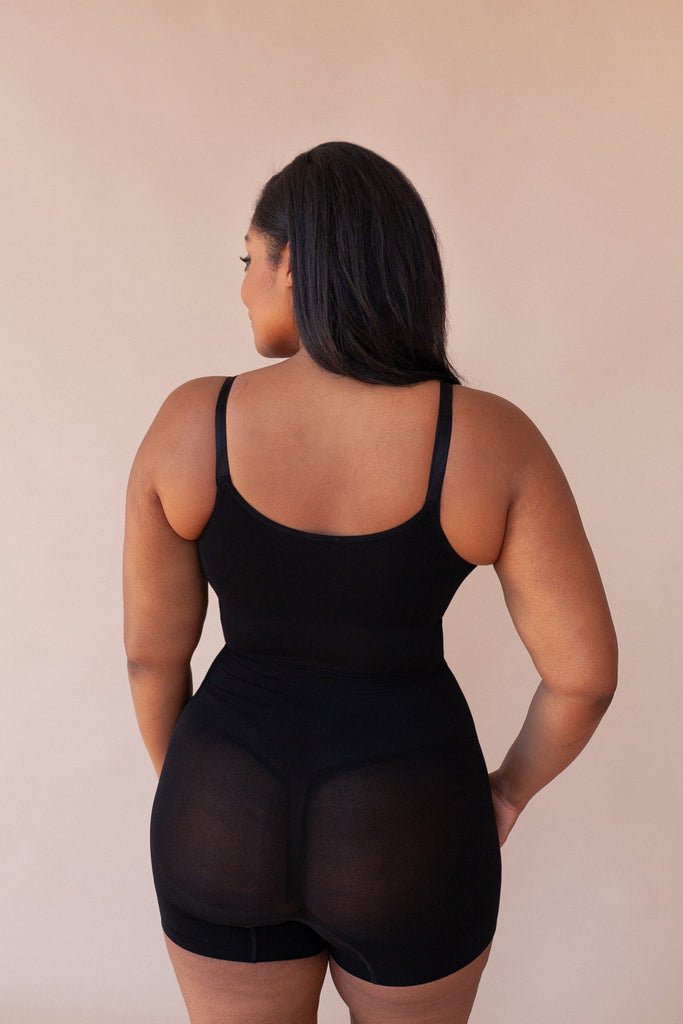 Open Bust Smoothing Bodysuit