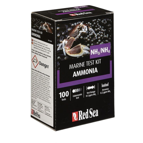 Red Sea Marine Test Kit Ammonia