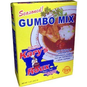Kary's Roux Seasoned Gumbo Mix 5 OZ (Pack of 12)