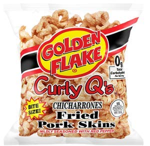 Golden Flake ( 3 pack ) Curly Q Red pepper