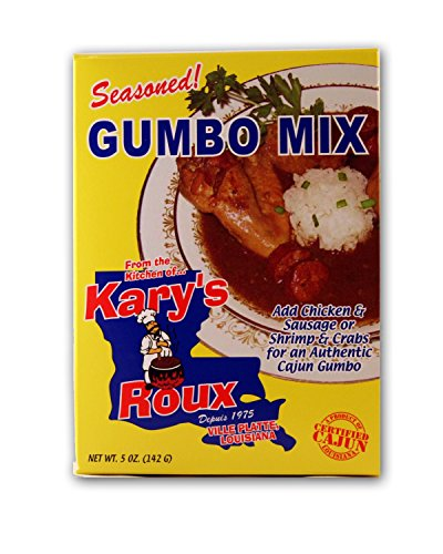 Kary's Roux Seasoned Gumbo Mix 5 oz