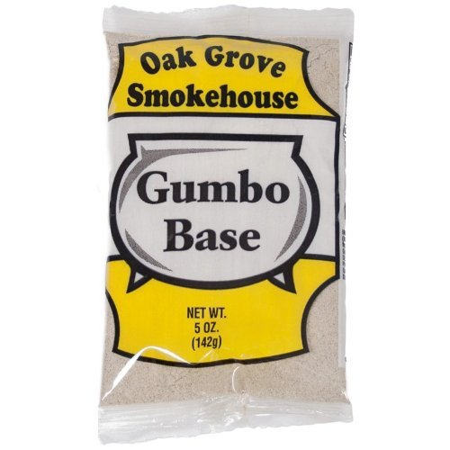Oak Grove Smokehouse Gumbo Base (5 Pack of 5 Ounce Bags)