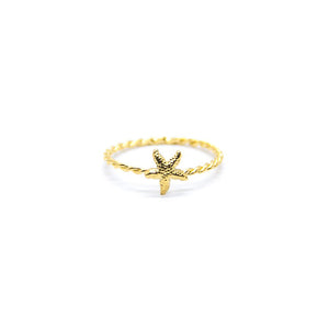 Mini Starfish Ring