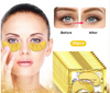 24k Gold Gel Eye Mask Eyelid Patch Anti Wrinkle Eye Care
