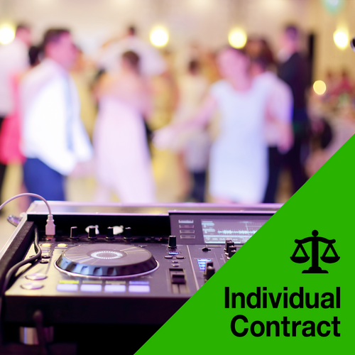 DJ Performance Contract (Special Event)