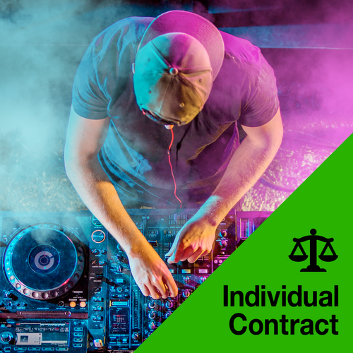 DJ Performance Contract (Nightclub)