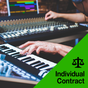 Dance Remix Recording Contract (Flat Fee)