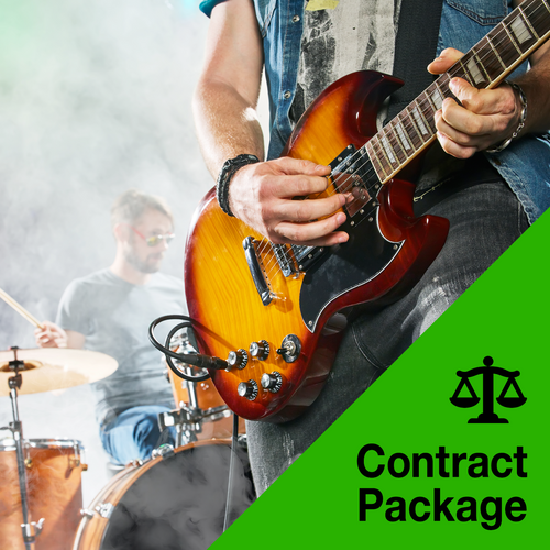 Contract Package for Bands and Working Musicians