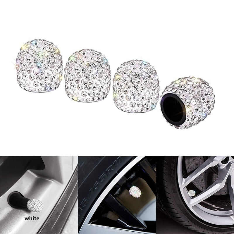 Diamond Universal Car Tire Air Sealing Cap