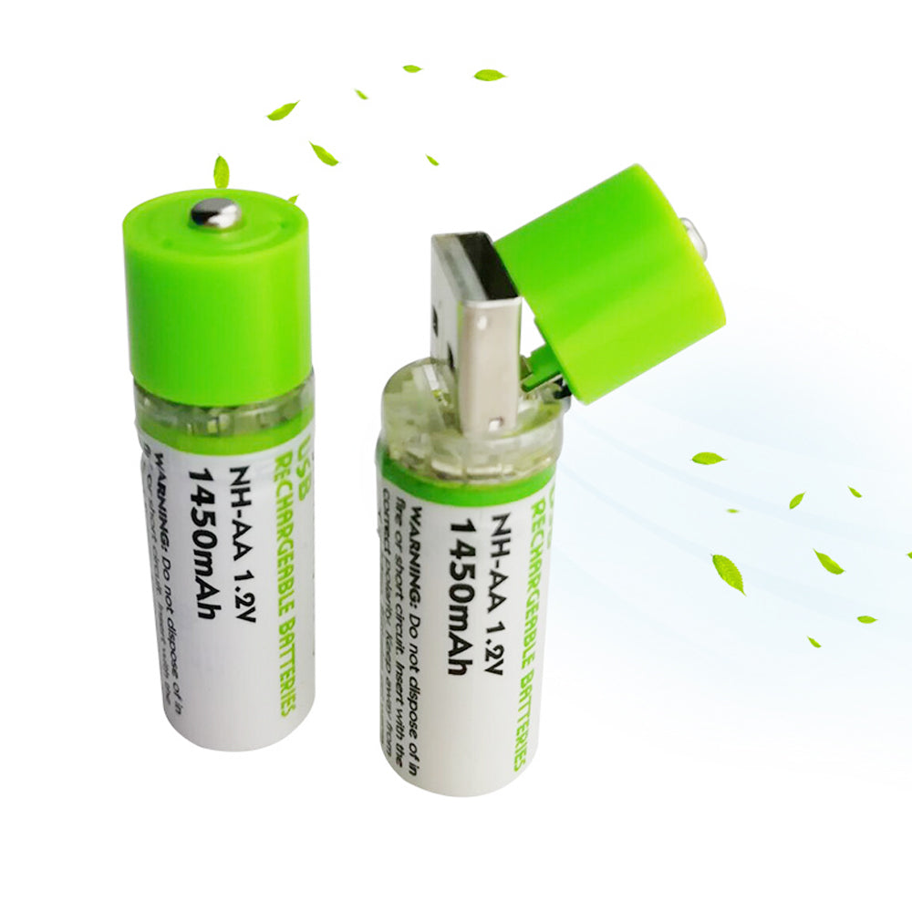 USB Rechargeable AA Batteries