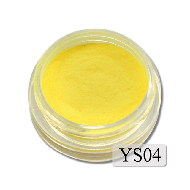 Ultrafine Fluorescent Nail Powder