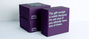 The Gift Receipt Is Inside Gift Box