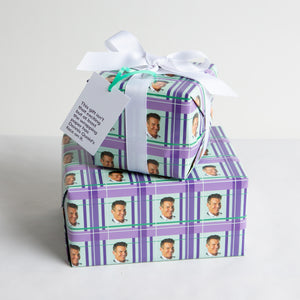 Highly Likeable Wrapping Paper + Gift Tag