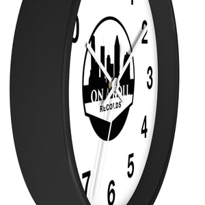 On a Roll Records Wall clock