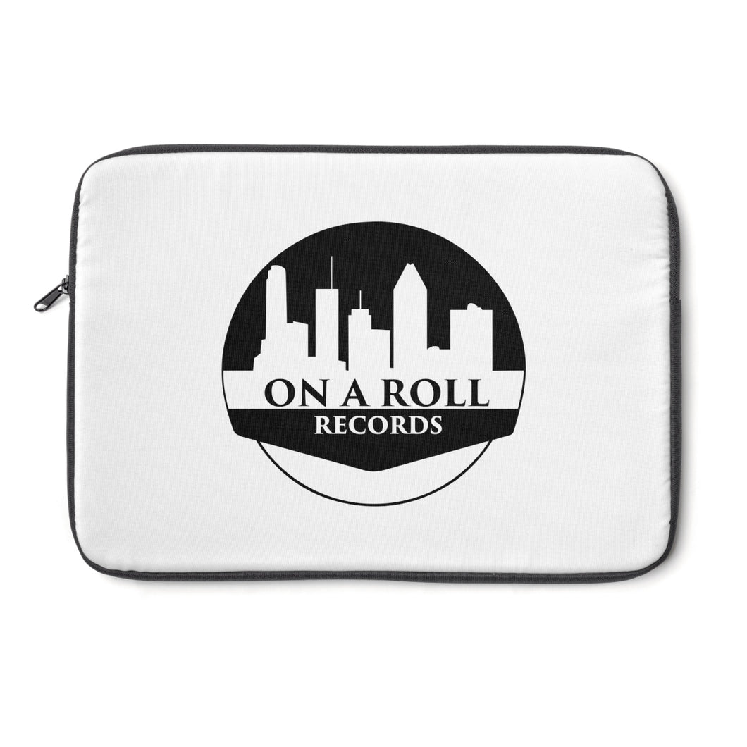 On a Roll Records Laptop Sleeve