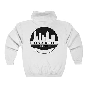On A Roll Records Unisex Hoodie (Front & Back)