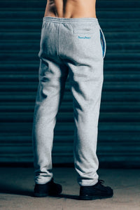 CozyFit Bottoms - Grey & Blue