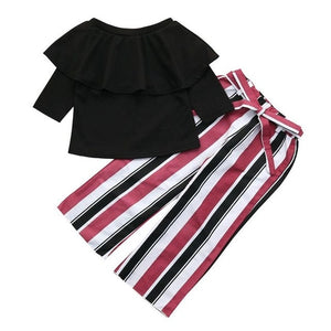 Girls Clothes Toddler Kids Baby Girl fashion Off