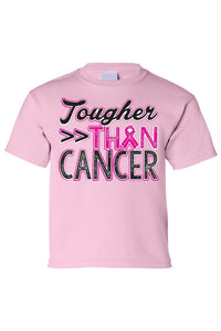 Kids Tee Touhger Than Cancer Short Sleeve T-Shirt