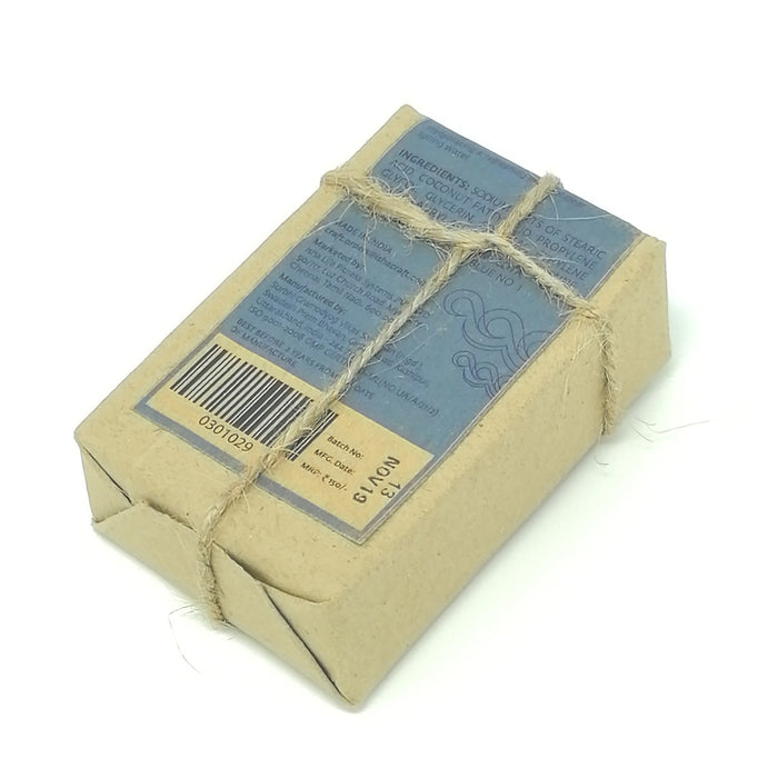 Cool Water Handmade Transparent Soap (Paraben & SLES Free), 125 gm