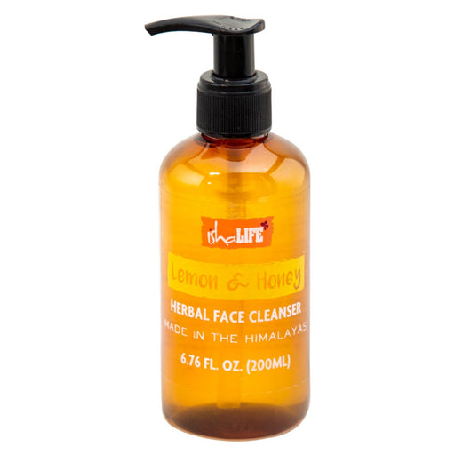 Lemon and Honey Herbal Face Cleanser, 200 ml - Isha Life AU