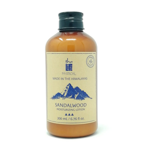 Sandalwood Moisturizing Lotion (Paraben and SLES free), 200 ml - Isha Life AU