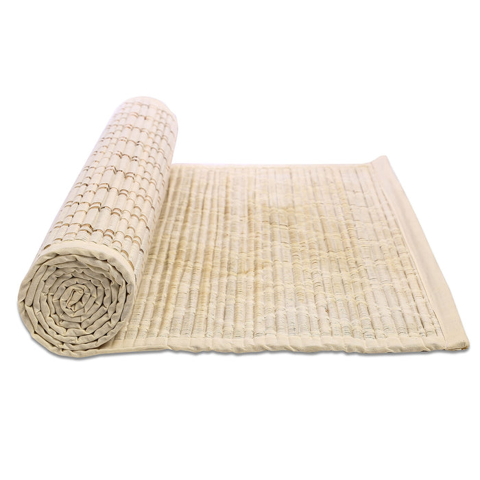 Sambu Straw Diamond Designed Yoga Mat - Isha Life AU