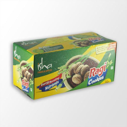 Ragi Cookies (Finger Millet Cookies), 100 gm - (Best Before 5 Feb 2020) - Isha Life AU