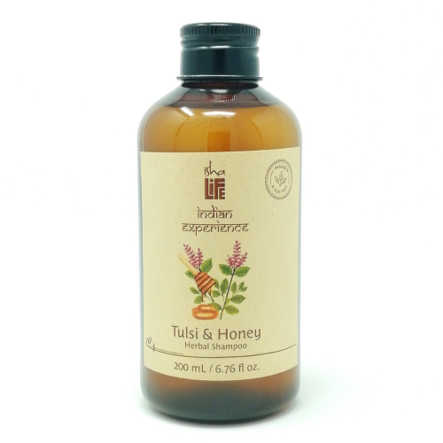 Tulsi & Honey Herbal Shampoo (Paraben & SLES Free), 200 ml