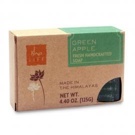 Green Apple Handmade Soap, 125 gm - Isha Life AU