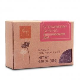 Strawberry Spring Handmade Soap, 125 gm - Isha Life AU