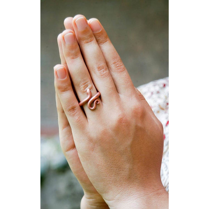 Consecrated Copper Ring (Large size)
