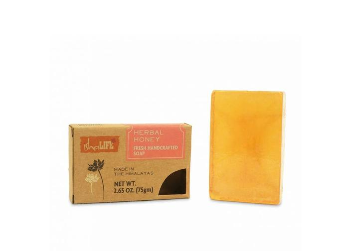 Herbal Honey HandMade Soap, 75 gm - Isha Life AU