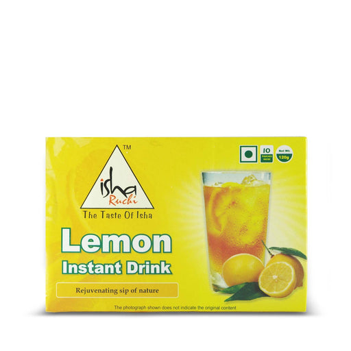 Lemon Instant  Drink  - 120gms (Best Before May 2020) - Isha Life AU