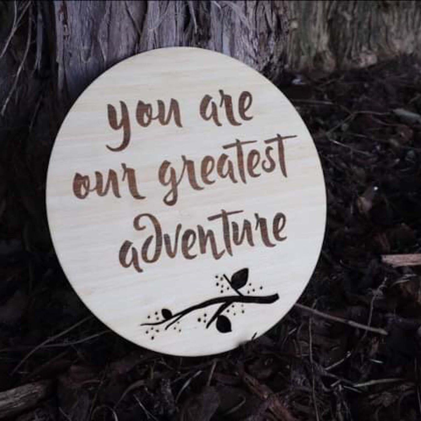 Greatest Adventure Plaque