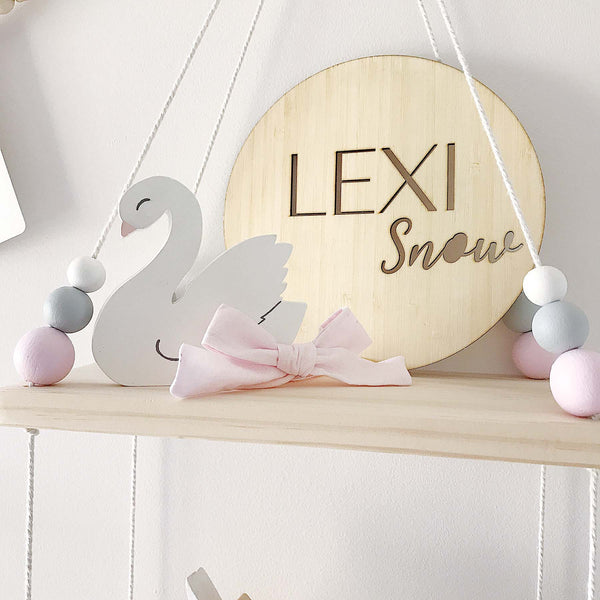 Lexi Name Plaque