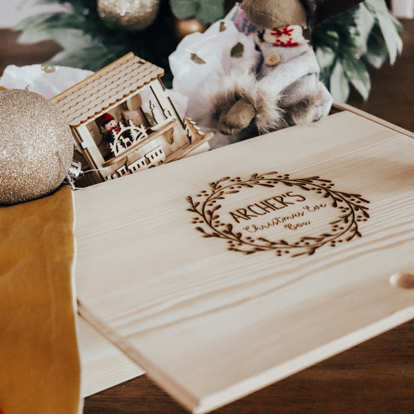 Christmas Keepsake boxes