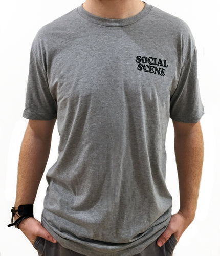 Broken Social Scene - Grey Bubble Letter T-Shirt