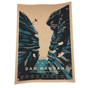 Dan Mangan - Nice, Nice, Very Nice Tour Poster (Postponed dates)