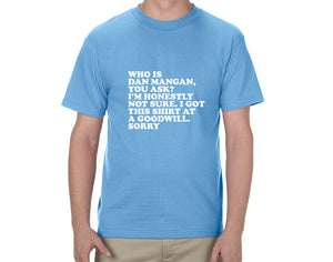 "Dan Mangan - ""Who is Dan Mangan"" T-Shirt"