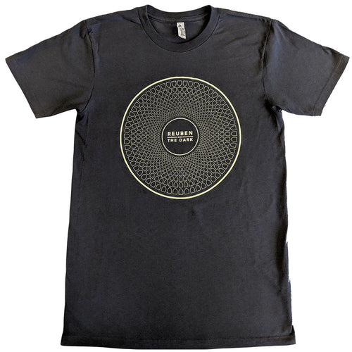 Reuben and the Dark - Grey Circle Logo T