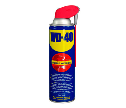 Aceite multiusos WD-40 doble acción 500ml