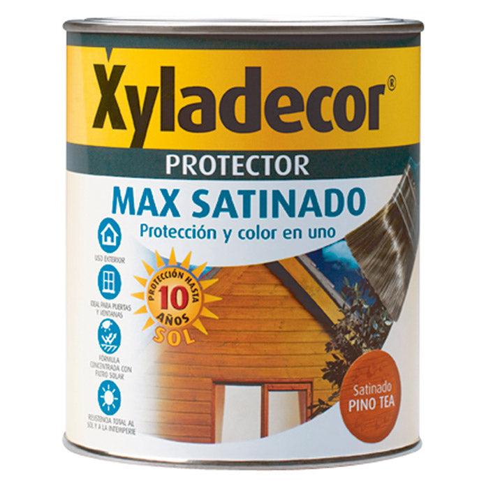 Protector para madera Xyladecor Max Satinado Roble 750ml