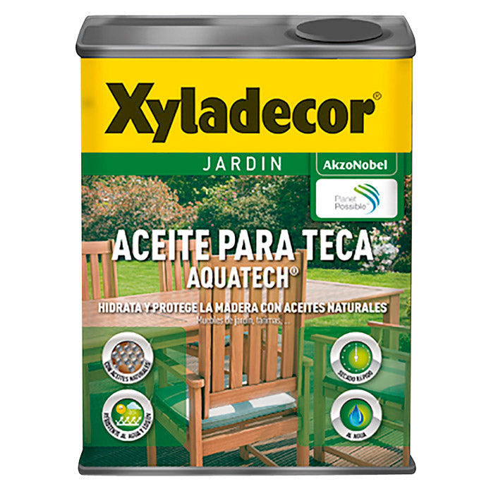 Aceite para Teca Xyladecor Aquatech 750ml