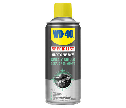 Limpiador para motos cera y brillo WD-40 400ml