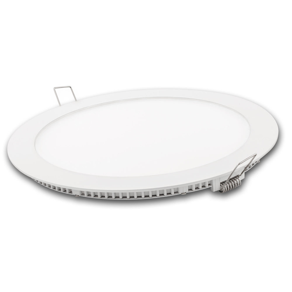 Downlight Led Matel Blanco 18W Tricolor Fría/Neutra/Cálida