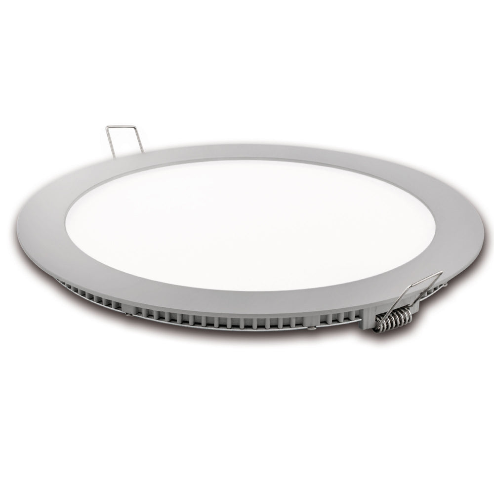 Downlight Led Matel corte 185mm Plata 18W Neutra