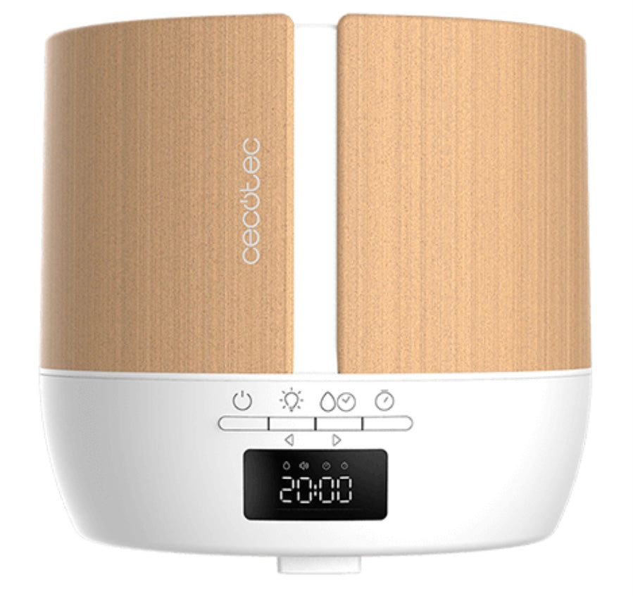 Humidificador PureAroma 550 Connected White Woody Cecotec