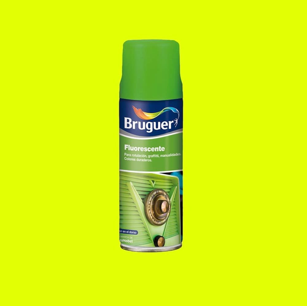 Fluorescente Spray Amarillo Bruguer 0,4L